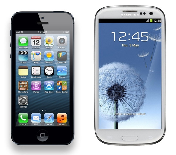 iPhone 4S vs iPhone 5 vs Samsung Galaxy S3 comparison results