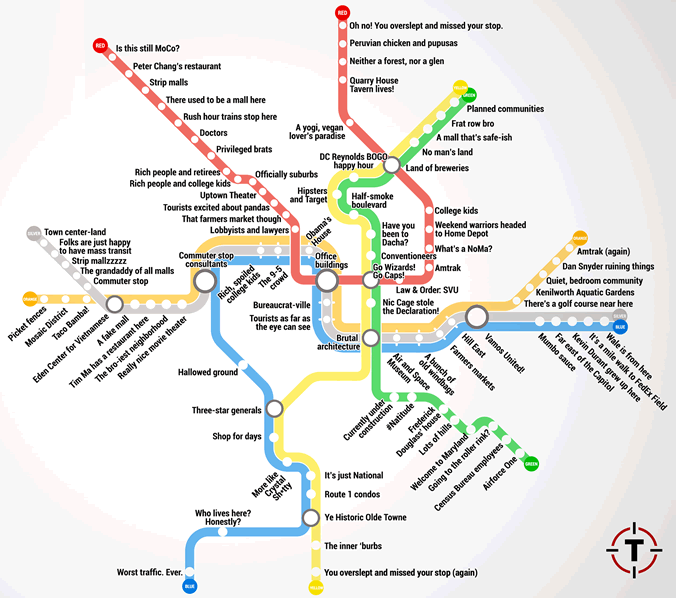 Wmata Subway Map.Washington Metro Map